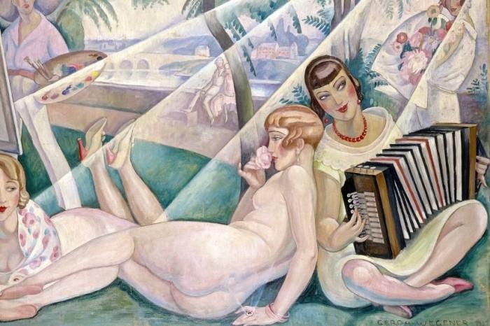 Gerda-Wegener-A-Summer-Day-detail-1927.-Photograph-Bruun-Rasmussen-Auctioneers-865x577